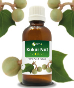 KUKUI NUT OIL 100% NATURAL PURE UNDILUTED UNCUT CARRIER OILS 50ML