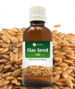 FLAX SEED OIL 100% NATURAL PURE UNDILUTED UNCUT CARRIER OIL 50ML