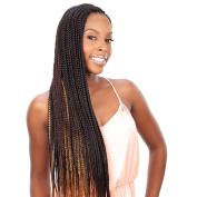 Shake N Go Que Volume 3X Tri Pack King Jumbo Braid Synthetic Hair