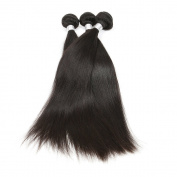 7A Brazilian Straight Hair 3 Bundle Brazilian Virgin Hair Straight Human Hair Extensions