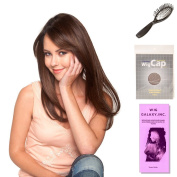 (4 Item Bundle) - (#BT-6001) Tea Leaf Layers by Belle Tress, Wig Brush, Booklet and a Free Wig Cap Liner.