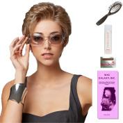 Confidence by Gabor, Wig Galaxy Hair Loss Booklet, 60ml Travel Size Wig Shampoo, Wig Cap, & Loop Brush (Bundle - 5 Items), Colour Chosen