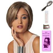 Grandeur by Gabor, Wig Galaxy Hair Loss Booklet, 60ml Travel Size Wig Shampoo, Wig Cap, & Loop Brush (Bundle - 5 Items), Colour Chosen