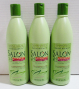 Spa Haus Salon 2 in 1 Shampoo & Conditioner - Lot of 3 - Strengthens & Nourishes