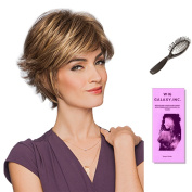 Gala by Gabor, Wig Galaxy Hair Loss Booklet, & Loop Brush (Bundle - 3 Items), Colour Chosen