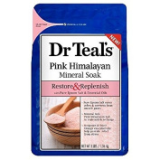 Dr Teal's Restore & Replenish Pure Epsom Salt & Essential Oils Pink Himalayan Mineral Soak 1420ml