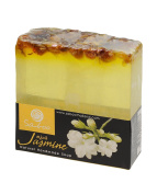 Saboo All Natural Oil Based Scented Aromatherapy Organic Handmade Soap, Jasmine Flower
