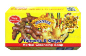 Asantee Brand Natural Herbal Whitening Turmeric with Ginger & Honey Soap Bar Acne for Eczema Men & Women Body from Thailand 125g