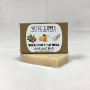 SHEA HONEY OATMEAL 30ml ORGANIC SOAP BAR BY WITCH HIPPIE