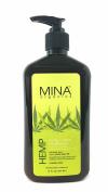 Hemp Body & Face Moisturiser 530ml (Paraben FREE) by Mina Organics. Factory Fresh!