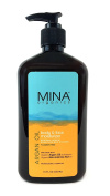 Argan Oil Body & Face Moisturiser 530ml (Paraben FREE) with Pump by Mina Organics. Factory Fresh!