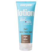 Everyone Lotion Cedar + Citrus 180ml