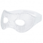 Plemo Crystal Clear Gel Beads Eye Mask Cool & Warm Therapy SPA for Puffy Eyes & Black Eyes