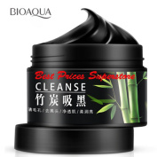 BIOAQUA Activated Carbon Purifying Mask Bamboo Charcoal Removes Blackheads 140g