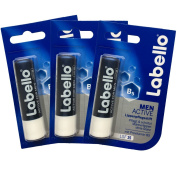 Labello Active for Men 4.8g/5.5ml SPF 15 - 3 Pack