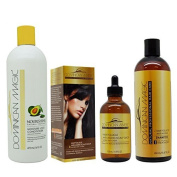 Dominican Magic Anti Ageing Shampoo, Scalp Drop, Moisture Lock Leave on Set by Dominican Magic