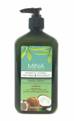 Tea Tree & Coconut Body Lotion 530ml (Paraben FREE) with Pump by Mina Organics. Factory Fresh!