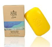 Salt Cellar Spa Dead Sea Sulphur Soap 130ml (125 g) All Natural with Sulphur and Dead Sea Salt