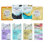 Epielle Assorted Mask (8 Pack)