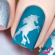 Whats Up Nails - Unicorn Nail Stencils Stickers Vinyls for Nail Art Design