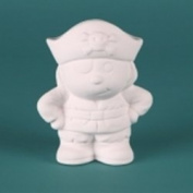 Bisque - Pirate Tiny Tot Jolly Roger
