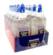 School Glue, Clear, Washable, 150ml Bottles - ACID FREE!