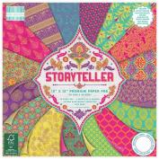 Premium Craft Cardstock First Edition Storyteller 30cm x 30cm Scrapbook Papers