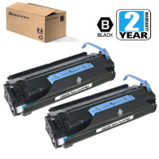 CRG106 Toner Cartridge 2 Pack Compatible for Canon MF6530 MF6531 MF6540 MF6550 MF6560 MF6580 MF6590 MF6595, Sirensky Brand