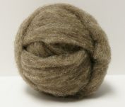 Two Ounces Dark Core Wool Roving for Needle Felting