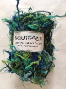 Crystal Palace Yarns Squiggle #9291 Seven Seas