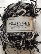Crystal Palace Yarns Squiggle #9418 Black & White