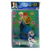 """Disney """"Frozen"""" A5 Writing Notebook with 3D Lenticular Moving Cover - 120 Pages"""