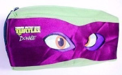 The Home Fusion Company Teenage Mutant Ninja Turtles Pencil Case & Eye Mask Party Mikey Orange Design