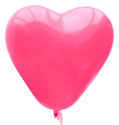 The Elixir Deco 100 Count Colour Balloons, Birthday, Propose, Lovely Heart Anniversary Party Balloon, Pink