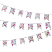 Talking Tables TSROM-BUNTING Truly Romantic Garland, Multicolor