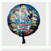 (2) Paw Patrol 46cm Wedding Shower Birthday Party Supplies Foil Mylar Helium Balloons Decorations Movie Poppy Celebrate