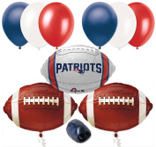 New England Patriots NFL Football Balloon Decorating Party Pack 10pc Starter Kit