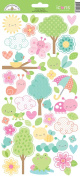 Doodlebug Designs Spring Things This & That Sticker Sheet