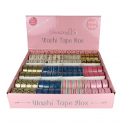 Dovecraft A Touch of Gold Assorted Embellishment Washi Tape 12 Pack