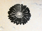 UMR-Design ST-012 Flower Airbrushstencil Step by Step Size S 5cm x 5cm