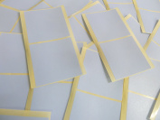 Large 51mm Square Pale Sky Blue Colour Code Stickers, 50 Self-Adhesive Sticky Coloured Square Labels