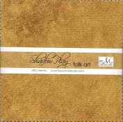 Shadow Play Folk Art 13cm squares - Maywood Studio