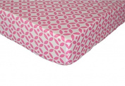 Trend Lab 100% Cotton Lattice (Fitted Sheet Only) Size Crib Baby Bedding Decor
