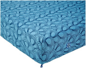 KicKee Pants Print Fitted Crib Sheet, Blue Moon Mussels