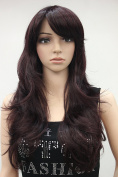 Kalyss Women's Long Hair mix Brown wig