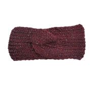 Wiipu Wiipu Winter Ear Warmer Headwrap Crochet Knit Hairband