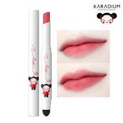 [KARADIUM] PUCCA LOVE EDITION Smudging Velvet Matte Long Lasting Lip Tint Stick 1.4g - 6 Colours