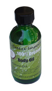 Green Breeze Imports Organic Coconut Oil Skin Conditioning and Massage Oil Unscented