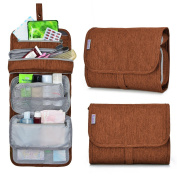 Mardingtop Travel Toiletry Kit, Organiser Cosmetic Bag,9.5 x 2inch x 19cm -5929