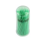 FTXJ 100pcs Micro Disposable Brushes For Eyelash Extension Individual Applicators Mascara
